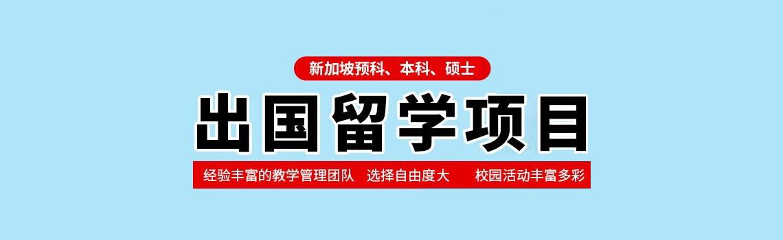 新加坡预科、本科、硕士留学项目招生信息