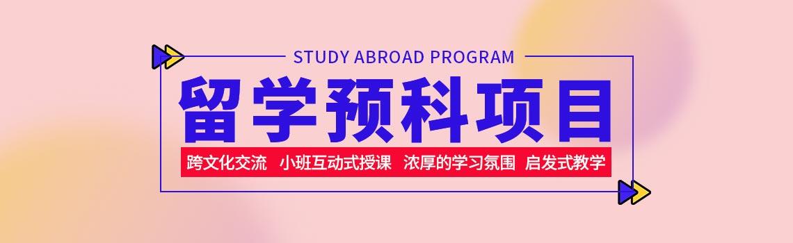 中国留学人才发展基金会留学预科项目
